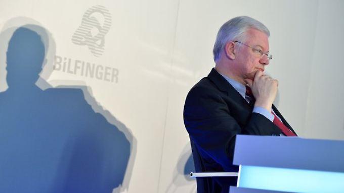 Konzernchef Roland Koch kann die Jahresziele nicht mehr erreichen.