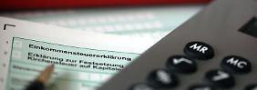 Beim Finanzamt kann es zu Eingabefehlern kommen - etwa wenn die Identifikationsnummer nicht richtig übertragen wird.