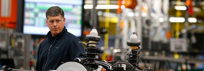 X4-Produktion im BMW-Werk in Sparanburg, South Carolina: Die neuen Arbeitsplätze entstehen ganz woanders.