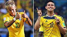 Das Duell der Jungstars: Neymar gegen den kleinen Prinzen