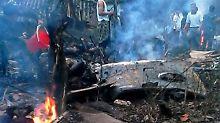 16 Tote in Vietnam: Armeehubschrauber stürzt auf Vorort