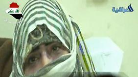 Im irakischen Fernsehen wurden Frauen gezeigt, die nach Vergewaltigung nach Bagdad geflohen sind und dort im Krankenhaus behandelt werden.