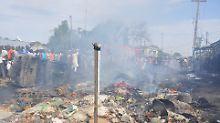 Die Behörden in Nigeria wollten ihren Landsleuten offenbar nicht zu viel zumuten.