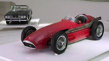 Mit dem Maserati 250 F gewann Juan Manuel Fangio 1954 den großen Preis von Argentinien.