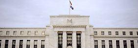 Hinweise im Sitzungsprotokoll: Fed hat keine Eile bei Zinswende