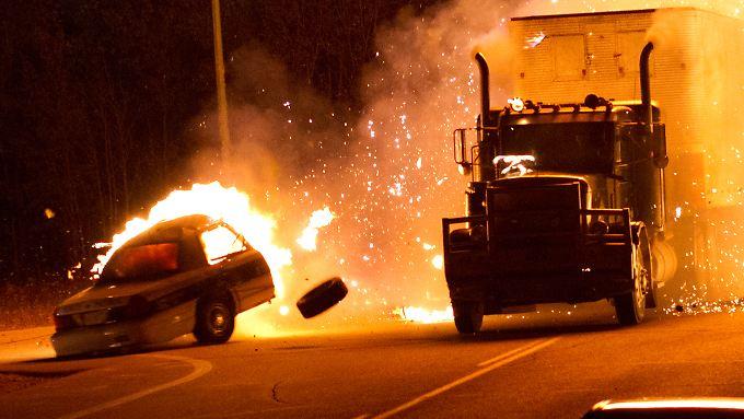 """Wo """"Rusty Nail"""" mit seinem Truck auftaucht, kracht es gewaltig."""