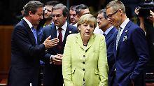 Die Kanzlerin ist schon frühzeitig davon ausgegangen, dass eine schnelle Einigung nicht erzielt werden wird.