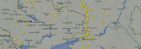 Ukraine schon seit Monaten umflogen: Viele Fluglinien vorsichtiger als Lufthansa