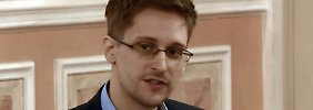 """""""Russland ist ein modernes Land (…) es hat mich gut aufgenommen"""", sagt Snowden über seinen derzeitigen Zufluchtsort."""