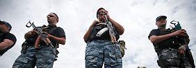 Die Legende der Bürgermilizen: Wie Russland die Separatisten zusammenhält