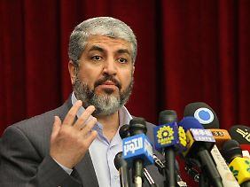 Maschal ist der führende Kopf der Hamas.