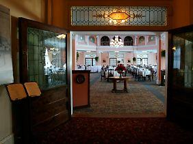 Der Hauch der Geschichte: Blick in den großen Speisesaal des 1902 eröffneten Hotels Mount Washington. Hier saßen die Experten zusammen.