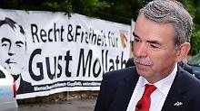 Konfusion im Prozess: Mollaths Anwälte legen ihr Mandat nieder