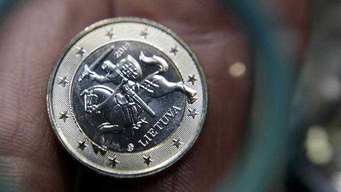 Diese Münze werden Litauer ab Januar 2015 öfter in den Händen halten.