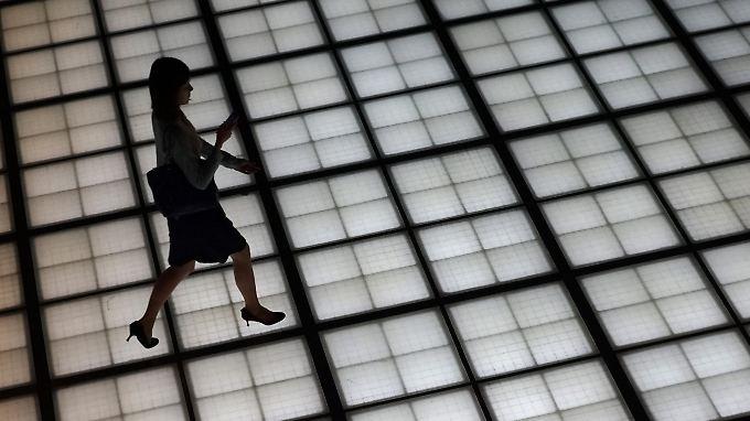 In Tokio bewegt sich der Nikkei mal wieder ein Stück nach vorn.