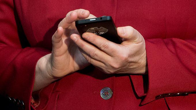 Die Krypto-Handys von Blackberry sollen deutsche Politiker vor Lauschangriffen schützen.