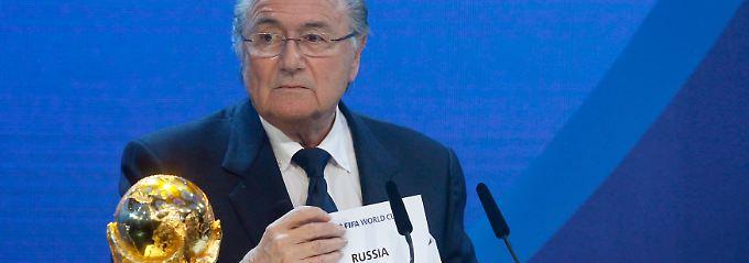 Alles nochmal von vorn? Fifa-Chef Blatter während der WM-Vergabe an Russland im Jahr 2010.