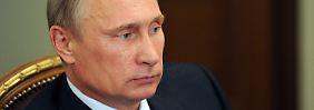 Durch die Sanktionen soll Putin gezwungen werden, einen Beitrag zum Frieden in der Ukraine zu leisten.
