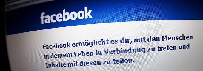 Der Service ist kostenlos: Bei Facebook geben Nutzer dafür ihre Daten preis.