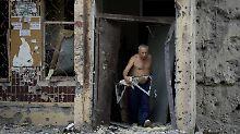 """""""Wir sind hoch diszipliniert"""": Rebellen geben Hinrichtungen zu"""