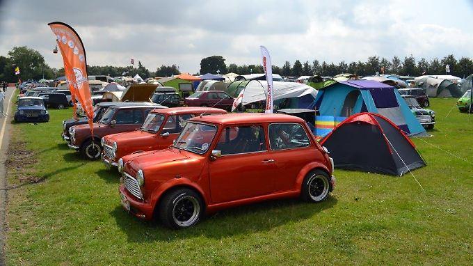 Das 55. Mini-Treffen im englischen Kent zog über drei Tage 15.000 Fans in seinen Bann.