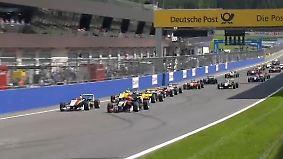 FIA Formel 3 in Spielberg: Tom Blomqvist schnappt sich den vierten Saisonsieg