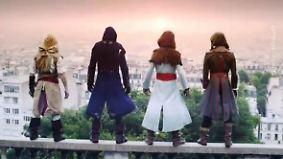 """Um Fans die Wartezeit zu verkürzen: Stunts aus Kult-Game """"Assassin's Creed"""" verfilmt"""