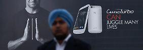 Boom-Markt Asien: Indisches Smartphone ärgert Samsung