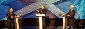 Wird Schottland unabhängig?: Harte Fronten bei TV-Debatte