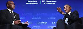 Investitionen von 33 Milliarden Dollar: USA wollen am Afrikaboom mitverdienen