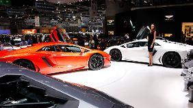 """Der Lamborghini """"Aventador"""" ist nicht ganz billig."""
