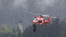 Zugunglück in den Alpen: Erste Bilder von der Unfallstelle