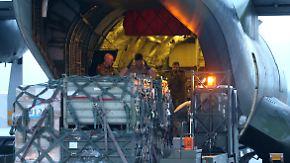 Bislang noch keine Waffen: Deutsche Irak-Hilfe läuft an
