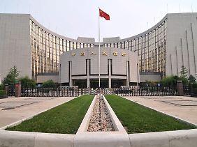 Sitz der chinesischen Zentralbank in Peking.