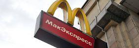 Keine Big Macs mehr: Moskau erklärt den Burger-Krieg