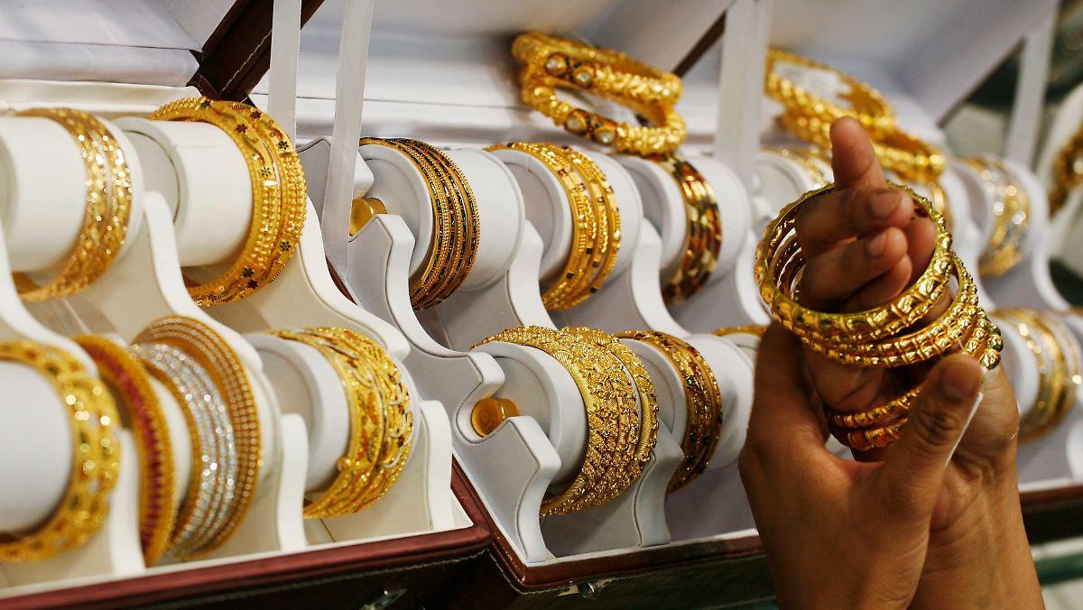 Gold-Anleger hoffen auf Indien