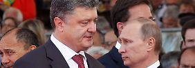 Putin trifft Poroschenko: Ziemlich beste Feinde