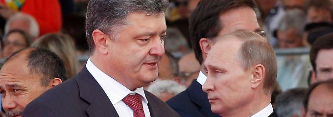 Eiszeit: Das Verhältnis zwischen den Regierungen in Moskau und Kiew ist seit Monaten schlecht. Nun treffen sich Putin und Poroschenko in Minsk.