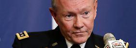 """""""Soweit sind wir noch nicht"""": US-Generalstabschef Martin Dempsey."""