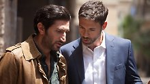 Fares Fares, left, as Fauzi, and Adam Rayner as Barry