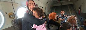 Mit Hilfe der US-Luftwaffe: Irakische Truppen befreien Amerli