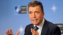 Nato-Generalsekretär Rasmussen erklärt die neue Militärsstrategie.