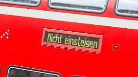 Chaos vom Montag erst der Anfang?: Lokführer drohen weitere Streiks an