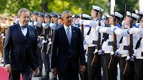 Signal an Moskau: Obama besucht erstmals das Baltikum
