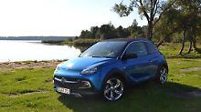 Wesentlich maskuliner als seine Brüder Slam, Jam und Glam gibt sich der Opel Adam Rocks.