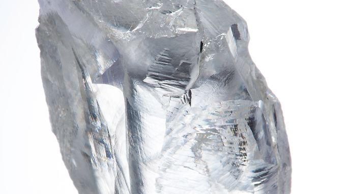 232,08 Karat: Das Unternehmen will den Stein verkaufen.