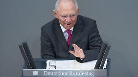 Haushalt 2015 ohne neue Schulden: Schäuble erwägt Abschaffung des Soli-Zuschlags