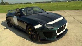 James Bond lässt grüßen: Project Seven: Schnellster Jaguar sorgt für Action