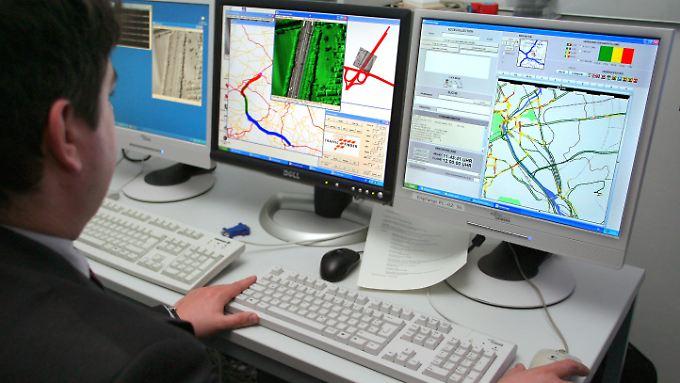 Das Erfassen von Verkehrsdaten, wie hier beim DLR, ist laut Porsche eine wichtige Zukunfts-Technologie.