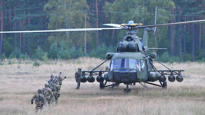 Auch in Polen, hier im Bild, sowie in Litauen finden derzeit Militärübungen von Nato-Staaten statt.